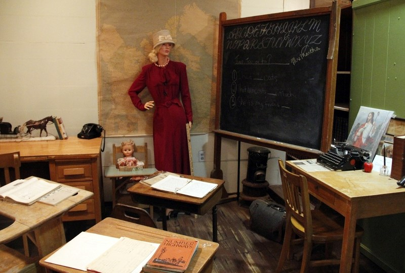 The Cold Lake Museums is home to artifacts that date back over 100 years. Currently, museum staff and volunteers are cataloging these items.