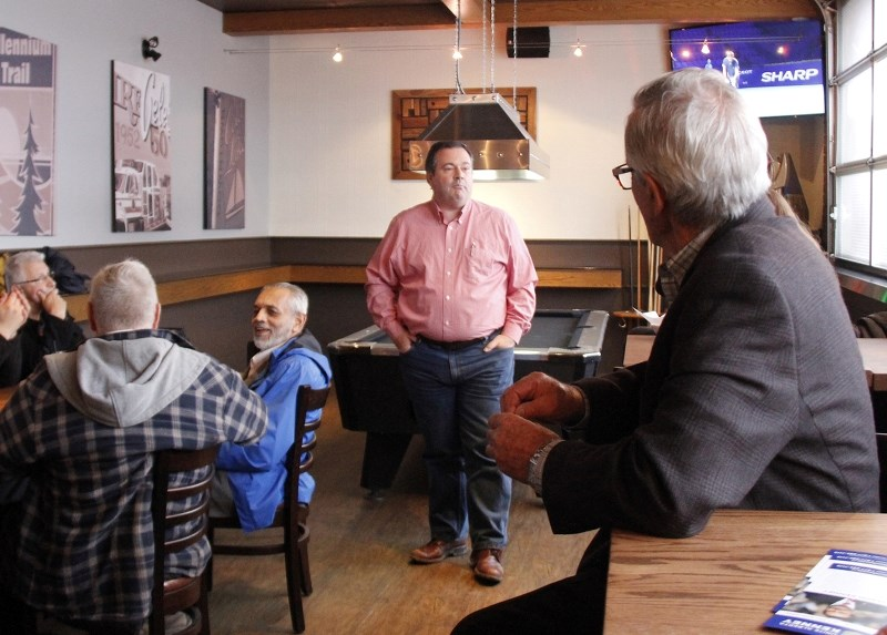 Jason Kenney was spreading the word of a united Alberta, as he made a stop in Cold Lake Tuesday afternoon.