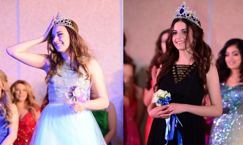 Dominique Simard (left) was crowned Miss Teen East-Central Alberta, and Riwa Kamaleddine (right) won the title of Miss East-Central Alberta.
