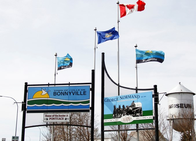 Town of Bonnyville Sign