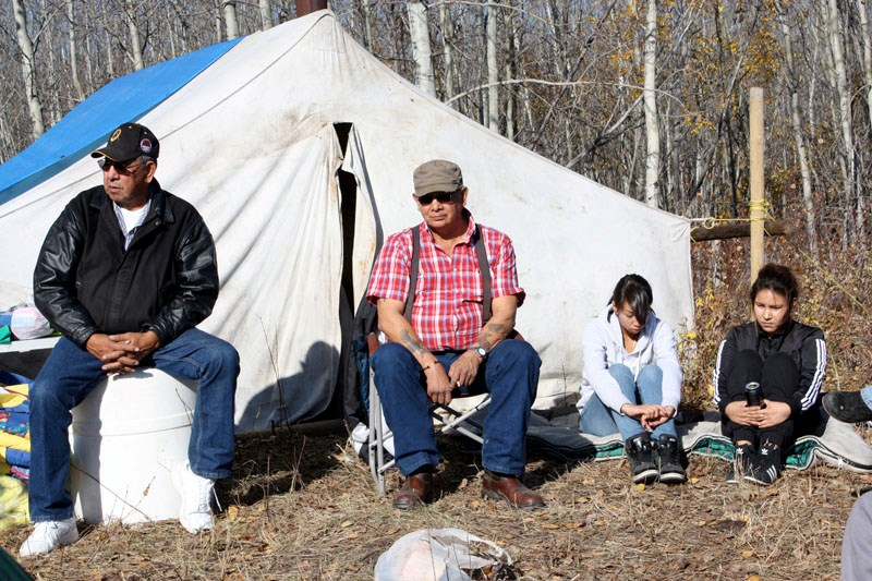 Different generations gathered last week at a Saddle Lake cultural camp to listen to presentations from elders on the theme of kinship.