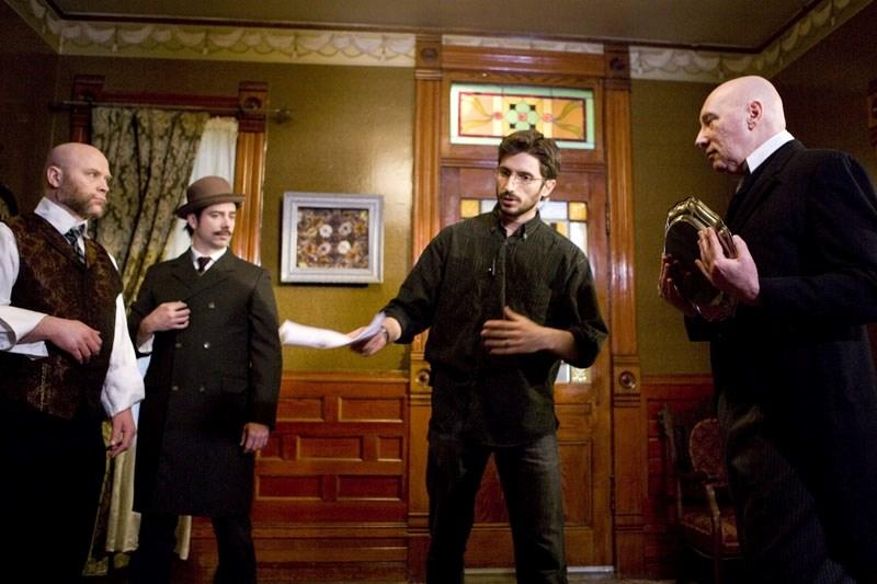 Filmmaker Erick Spoeth directs actors latest short movie called Mea Maxima Culpa