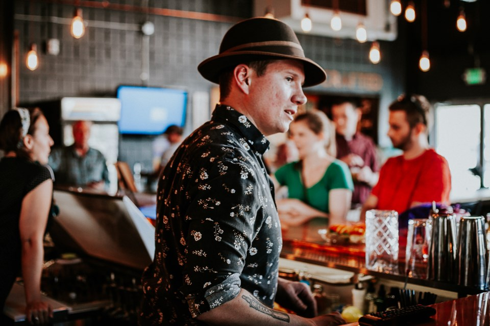 John Young, Abbott and Wallace Distilling co-owner, at a past Longtucky Derby party | Photo by Lachlan Quintana