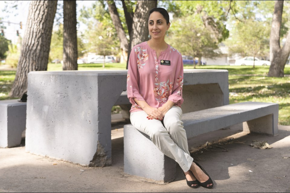 Rep. Iman Jodeh is a first generation American and the first Muslim to be elected to the legislature, representing the 41st District.  Portrait by PHILIP B. POSTON/Sentinel Colorado