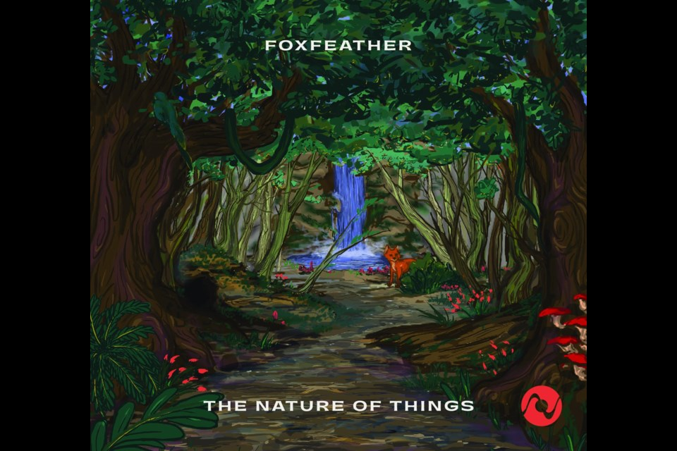 The album cover of The Nature of Things, Foxfeather's second full-length album.