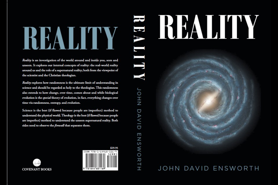 The cover of Reality by John David Ensworth