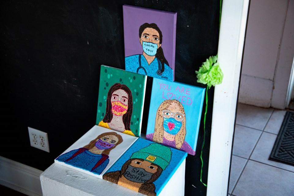 Student Self-Portraits (1 of 1)