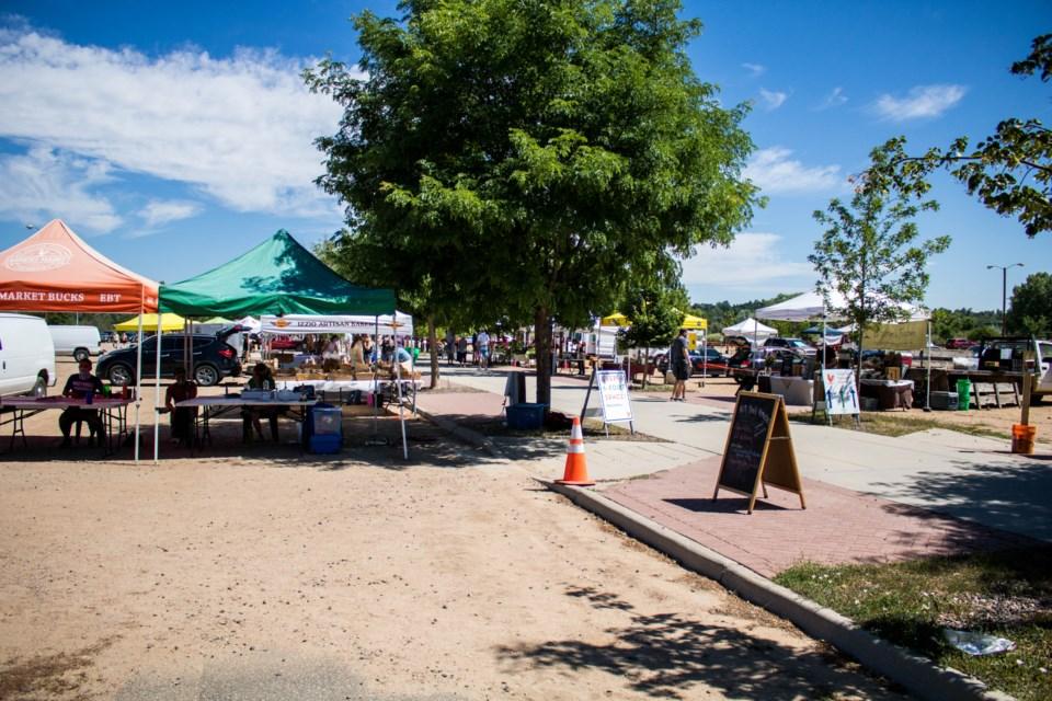 Longmont Farmers Market (Photo by Matt Maenpaa)