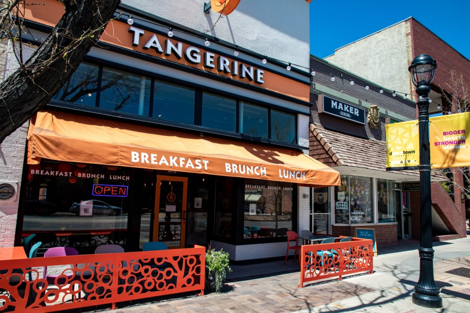 Tangerine's Longmont location has reopened on Main Street after closing in July 2020 due to the pandemic.