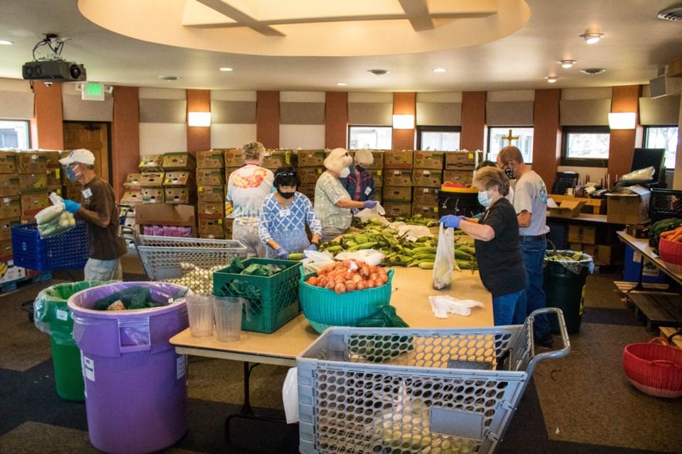 Volunteers Organizing (2 of 3)