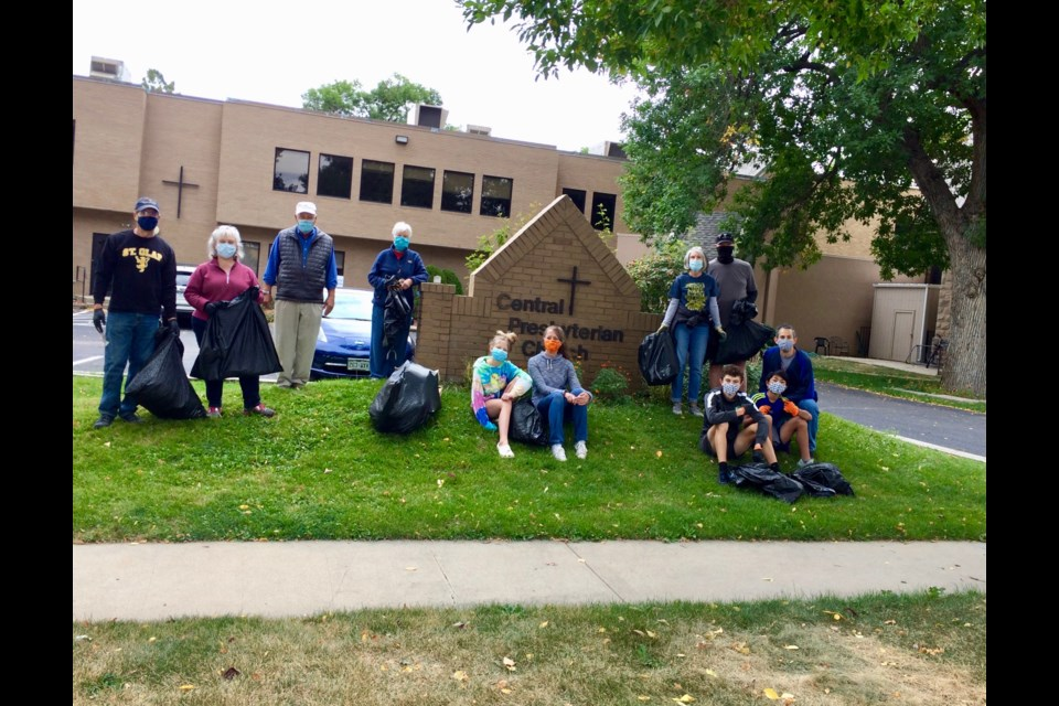 Green Up Clean up Fall event at Central Presbyterian Church