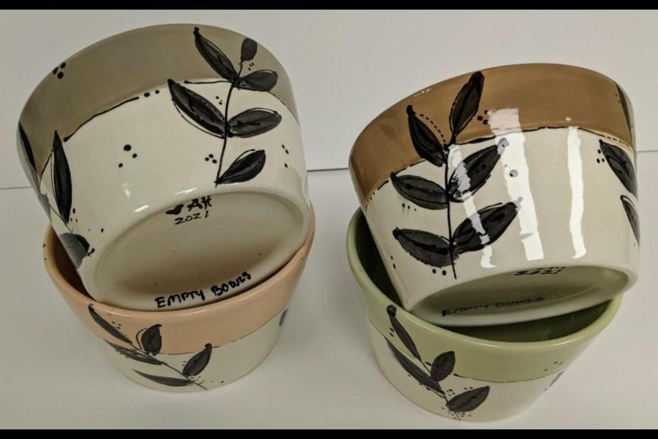 Empty Bowls 2021 auction items