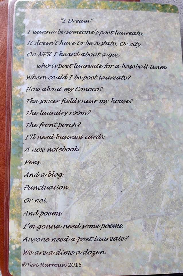i dream poem teri harroun
