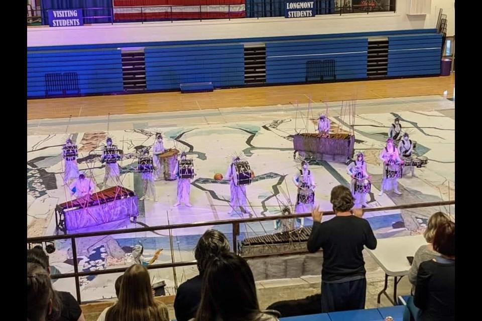 Longmont Combined Schools Drumline performance during the 2020-2021 season | Courtesy photo