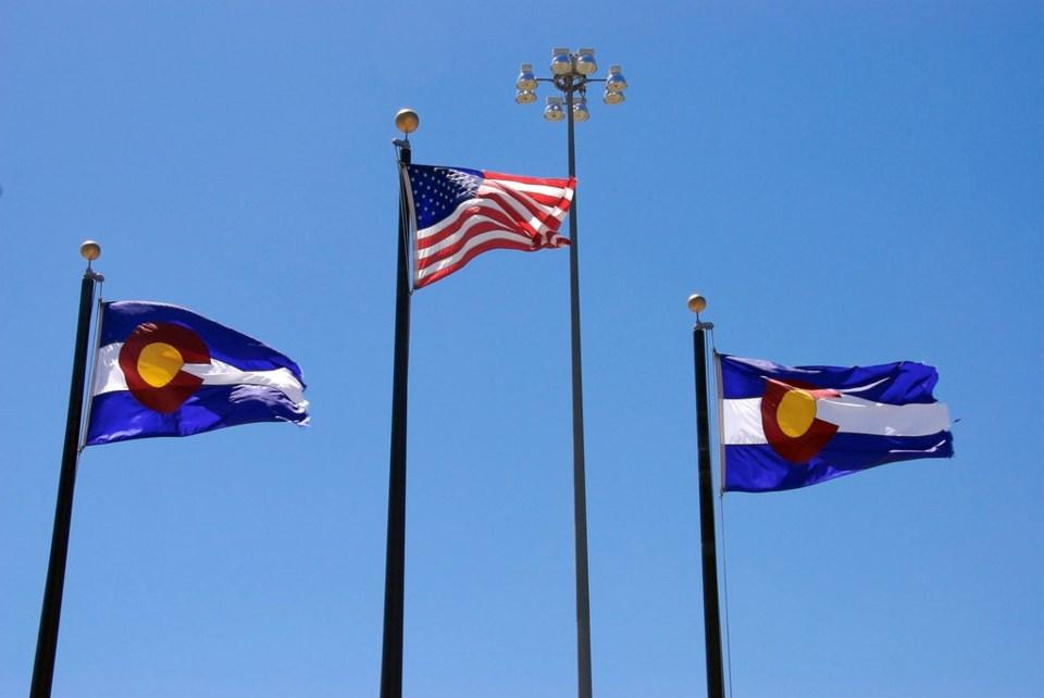 Colorado Flags by Tom Arthur