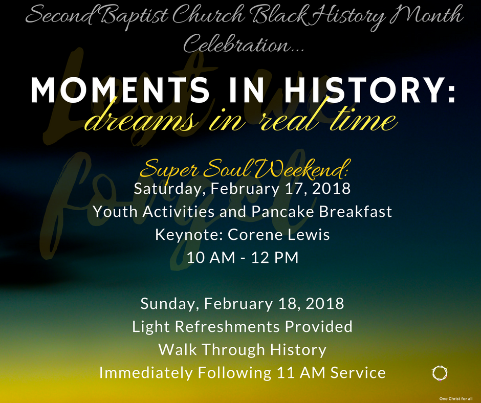 moments in history flyer