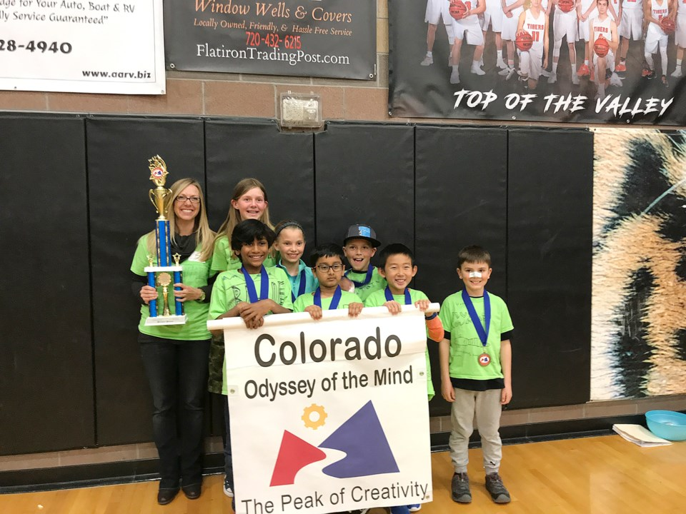 Blue Mountain Elementary Odyssey of the Mind