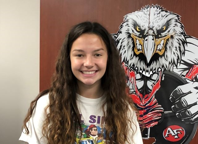 Fitch High School senior Abby Knight will be playing soccer at Youngstown State University next season. (Photo by Tom Williams)
