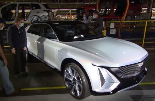 Some Of Gm S New All Electric Cadillac Lyriq Will Still Be Lordstown Made Mahoning Matters