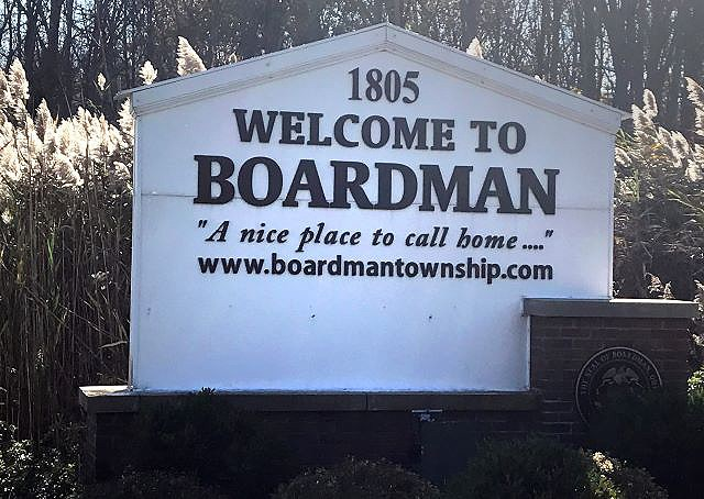 Boardman sign 11032020
