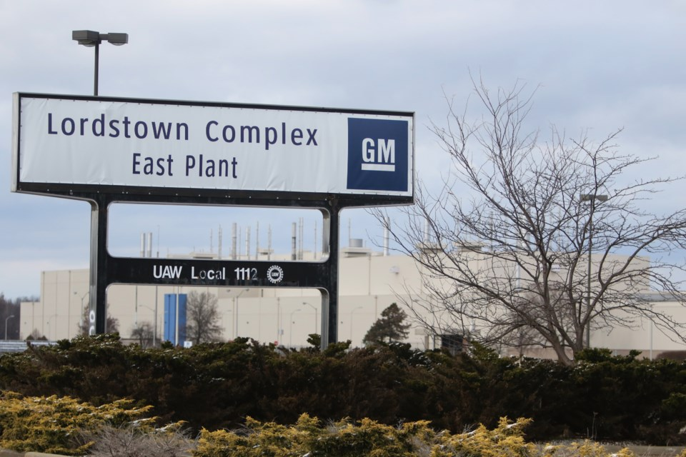 gm lordstown sign