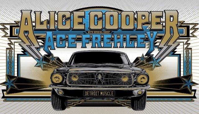 Alice Cooper - Ace Frehley