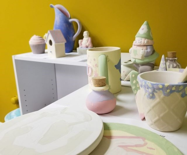 Sarah's Ceramic Studio offers a walk-in pottery experience for the public and rentals for professionals, as well as a Makers Market for local artists to sell their pieces. (Contributed photo)