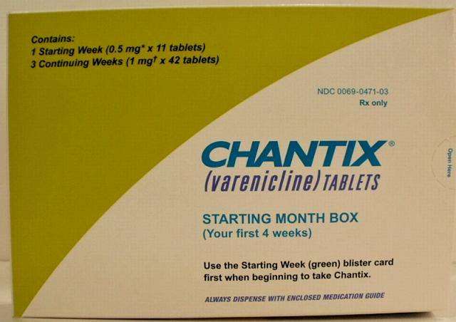 Chantix box
