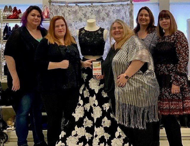 """Kristin Bodendorfer, owner of DIVA Donations, 11836 South Ave., Door E on the second floor, describes the operation as """"the first formal clothing closet in Mahoning County.""""(Photo provided)"""