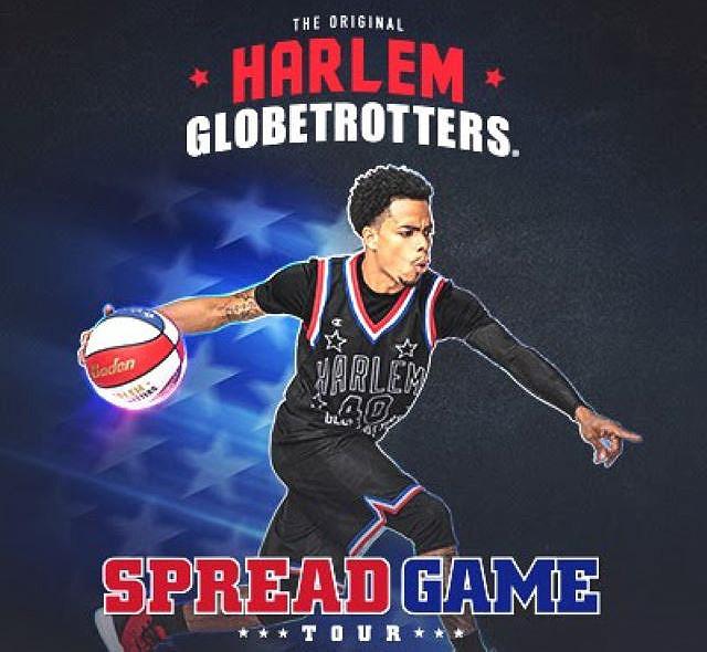 Harlem Globetrotters Spread Game