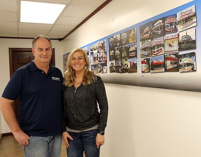 Jeff  and Holly Swartz are the second generation running Hitch-Hiker Mfg. in New Middletown, an innovator in the custom concession unit industry. (Photo by Robert K. Yosay)