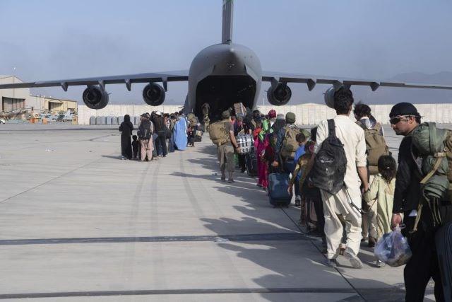 Kabul - Afghanistan - airport 08242021
