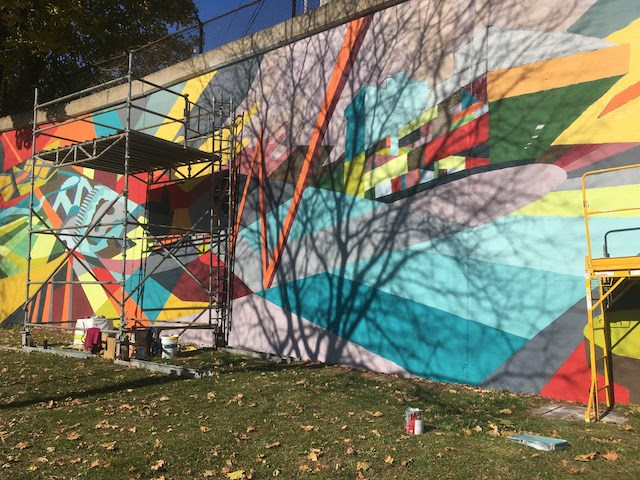 Andrews Avenue mural