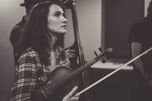 Violinist Caitlin Hedge will participate in the first Dana Alumni Recital Series performance of the season. (Youngstown State University).