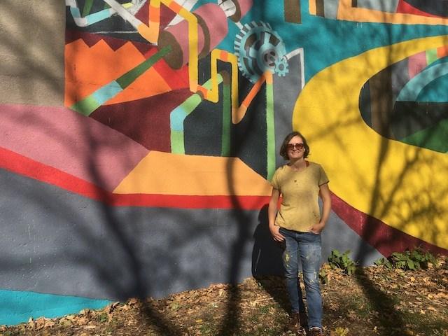 Dragana Crnjak mural