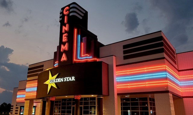 Golden Star Theaters, a family-owned movie theater chain based in New Castle, Pa., recently expanded to the Mahoning Valley with the opening of Golden Star Theaters Austintown Cinema.(Photo provided)
