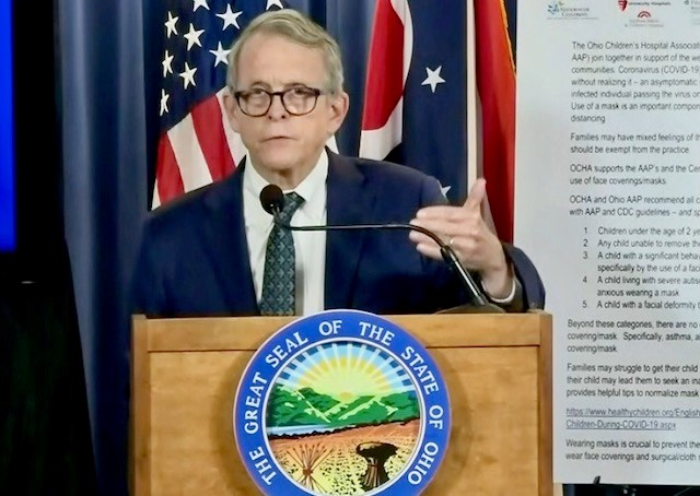 Gov. DeWine tests negative again for COVID-19