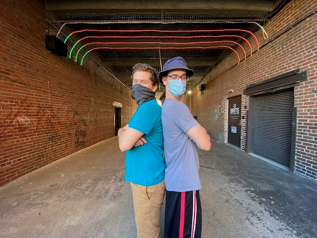 Youngstown State University entrepreneurs John Galvin and Andrew Boyer founded Chromaticity Technologies in 2018. The company provides special effects lighting, sound and networking technology. (Contributed photo)