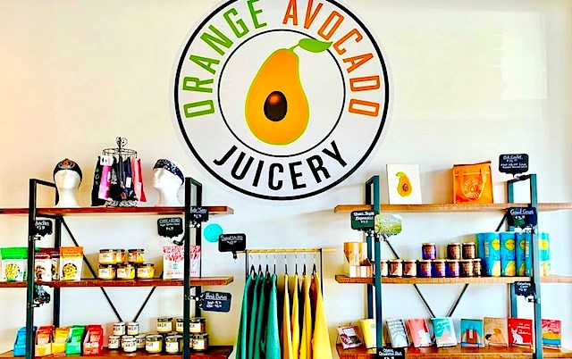 Orange Avocado Juicery offers vegan and gluten-free juice, smoothies and grab-and-go foods that put a healthy twist on classic favorites, like chia seed pudding, cashew coconut cheesecake and avocado cacao mousse.(Photo provided)