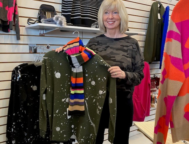 Suzanne's fashion boutique will celebrate its 45th anniversary during Thanksgiving weekend.Suzanne Kessler and her late sister, Kathy Kane, opened The Tennis Connection, a tennis apparel and equipment store, in Niles on Black Friday in 1975.(Photo provided)