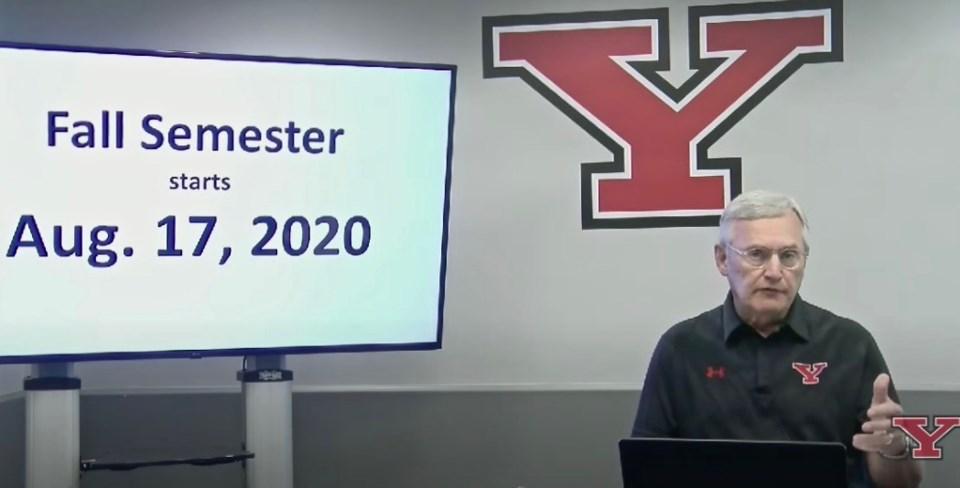 YSU Tressel reopening 07162020