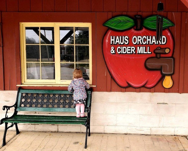 In the midst of apple harvest season in Ohio, Haus Orchard and Cider Mill offers customers a classic taste of fall with their specialties — apple cider and other fresh goodies.(Photo provided)