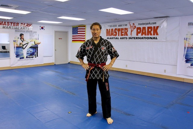 Grandmaster Park, owner of Master Park Martial Arts International, is celebrating more than 50 years of instruction in various aspects of martial arts in Boardman. (Robert K. Yosay   Mahoning Matters)