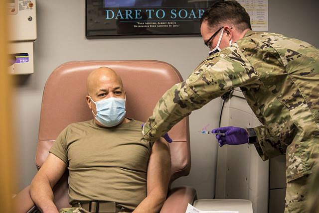 Ohio National Guard vaccinations