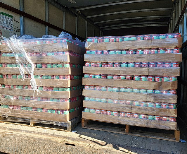 Penguin City Brewing Co. delivered a shipment of beer to Wine & Beverage Merchants in Weirton, W.Va. (Contributed photo)