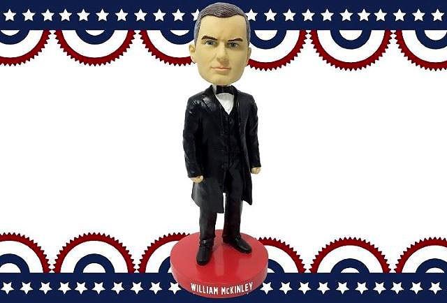 President William McKinley bobblehead