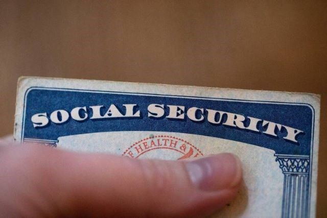 Social Security card - AP