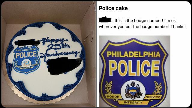 The Bakery House - police cake