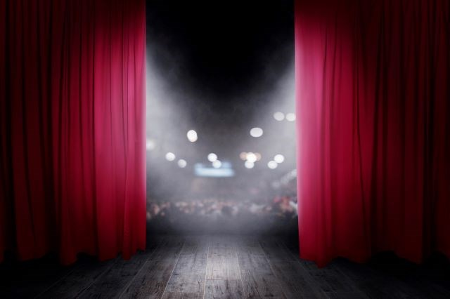 Theater curtain - getty