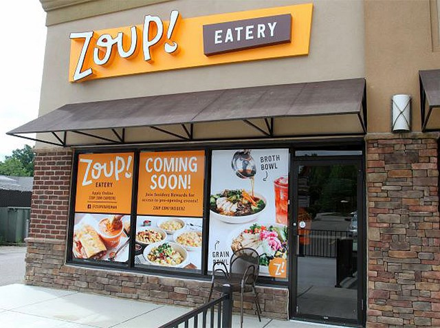 Zoup! Eatery next week is celebrating the opening of a new location in Boardman. (William D. Lewis   Mahoning Matters)